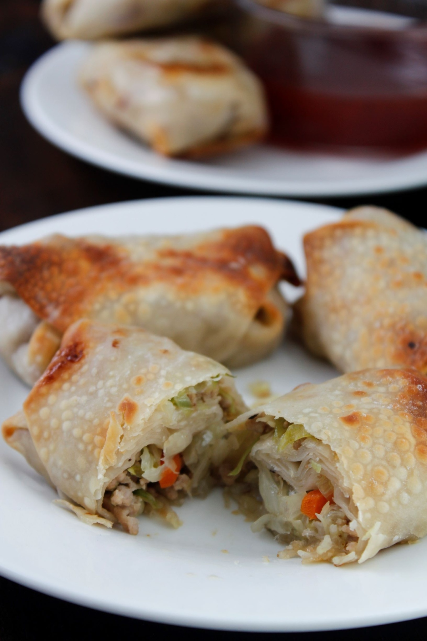 CD's Country Living Pork Egg Rolls