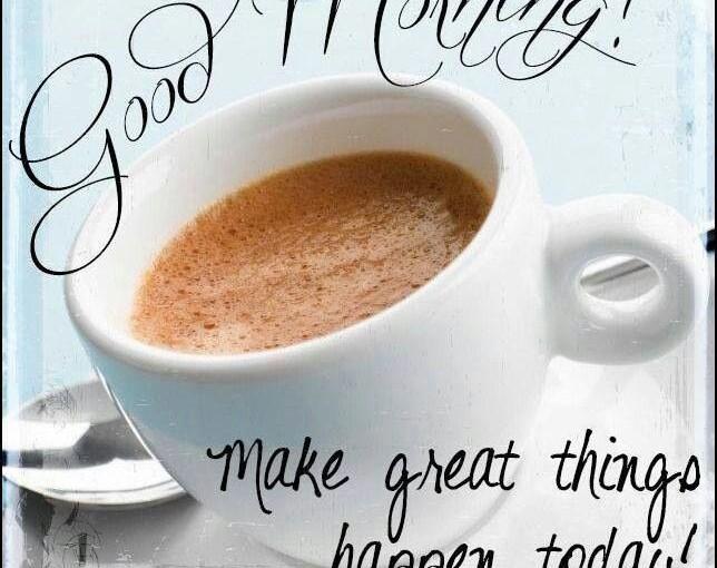 Картинки: доброе утро и хорошей недели!