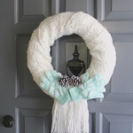 DIY Winter Wreath-CD's Country Living