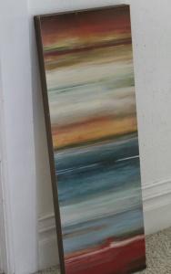 Repurposing canvas art