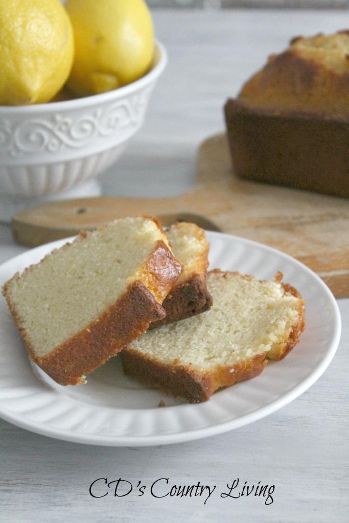 Sliced Lemon Bread