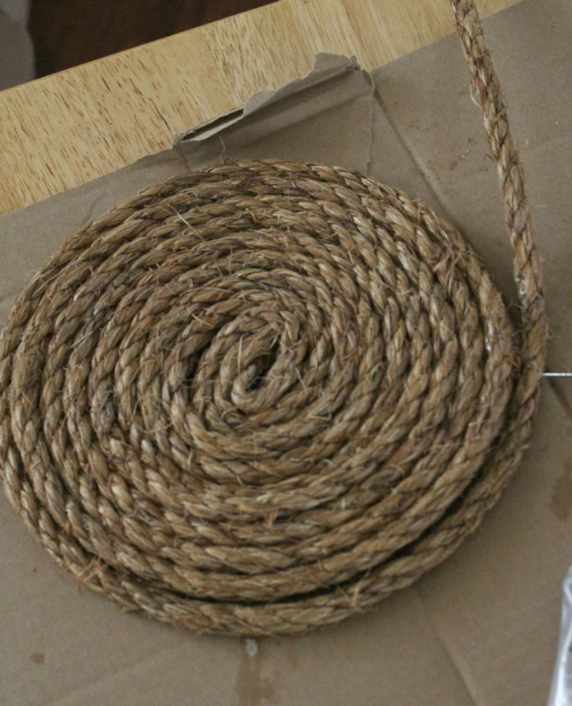 Making Rope Placemat