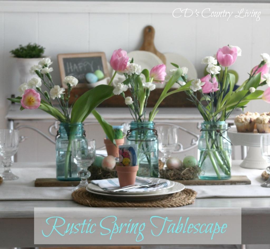 Rustic Spring Tablescape1