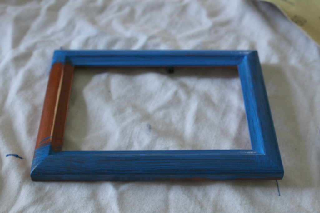 Picture Frame Chalkboard for Trash to Treasure project