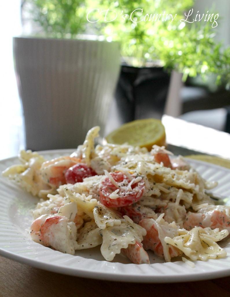 Creamy Shrimp Salads
