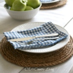 DIY Rope Placemats