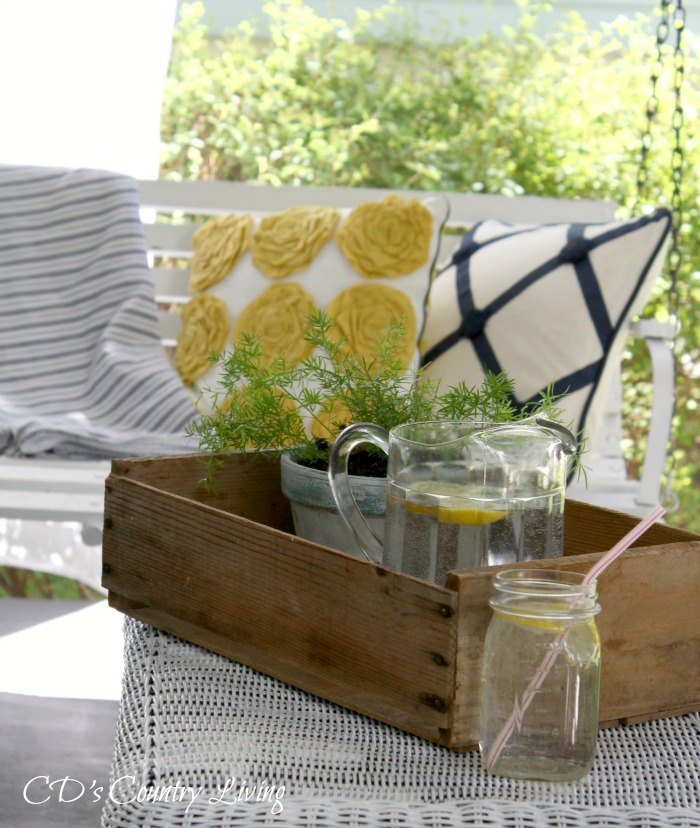 Front Porch Swing-Summer