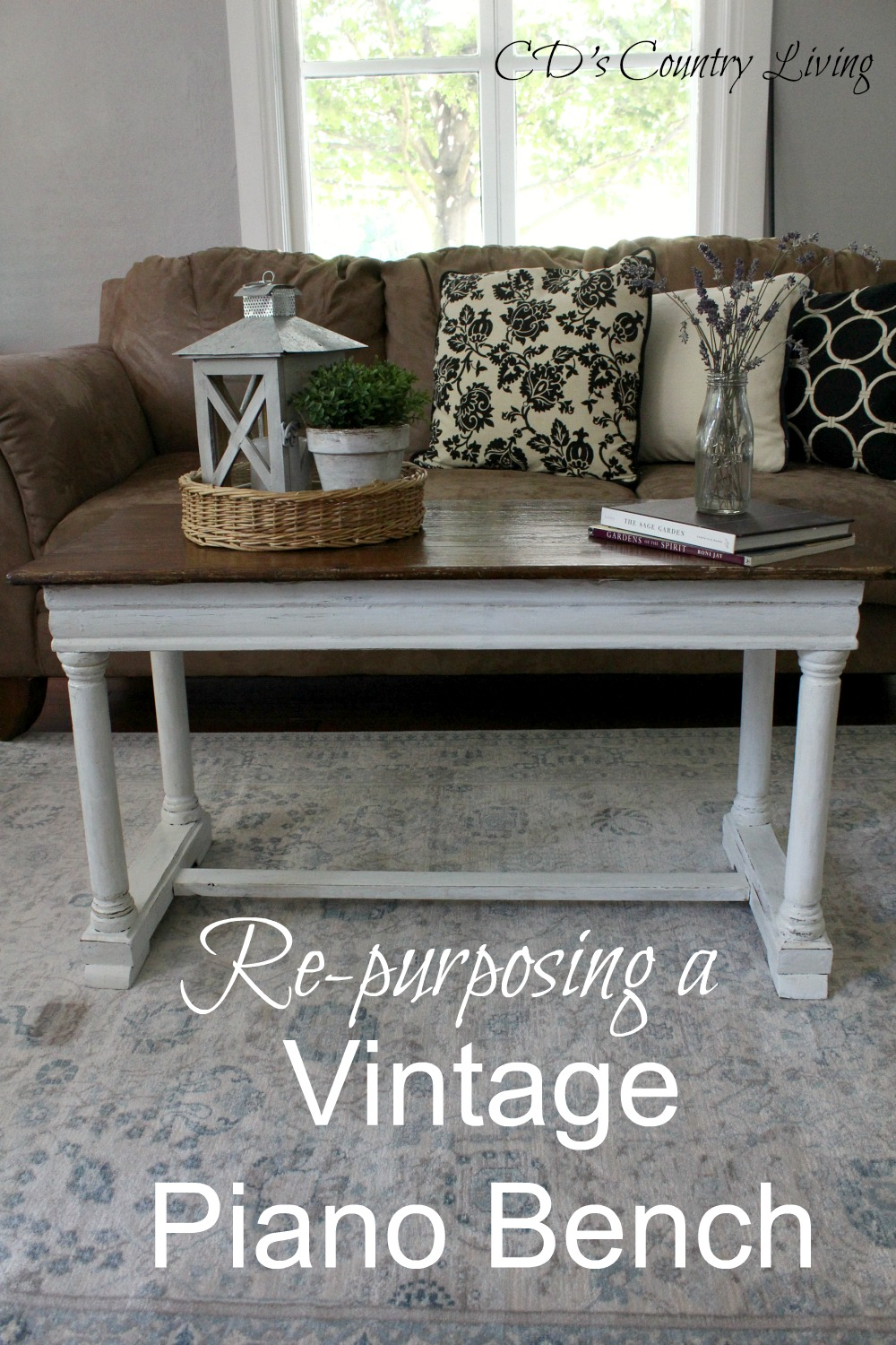 Repurposing a Vintage Piano Bench