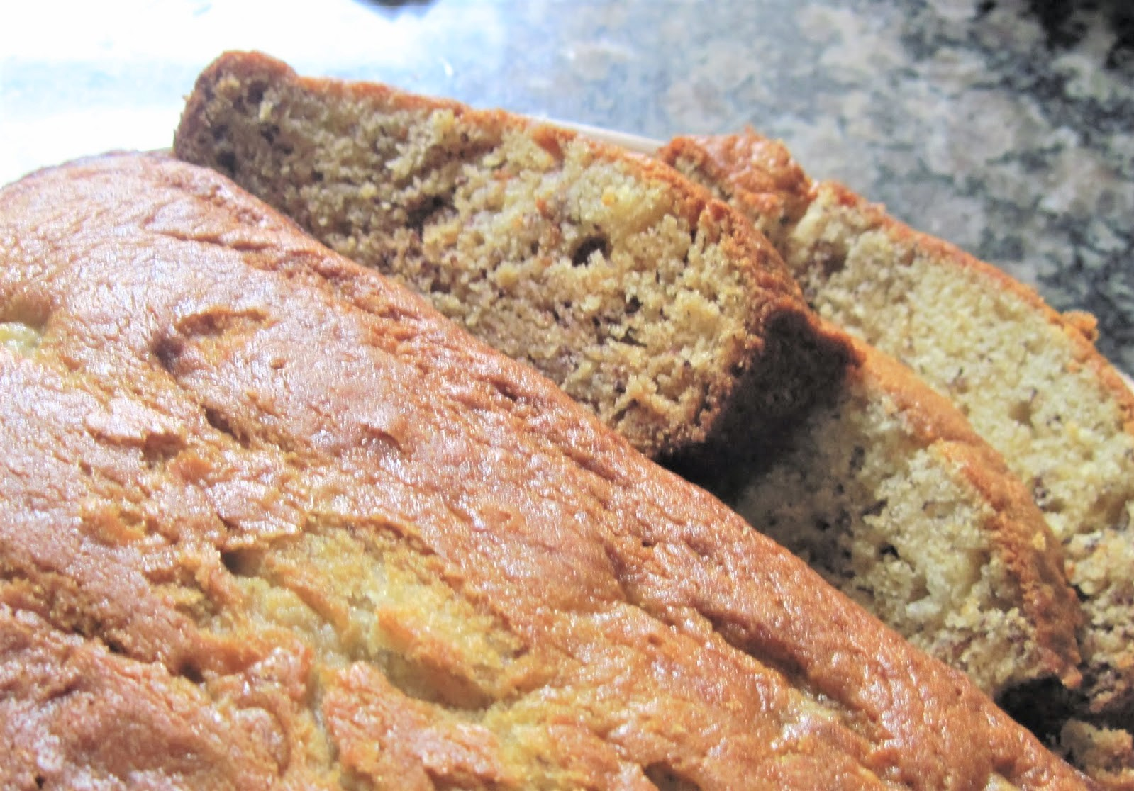 Banana Bread with Cinnamon-Honey Butter!