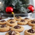 Peanut Butter Blossom Cookies-CD's Country Living