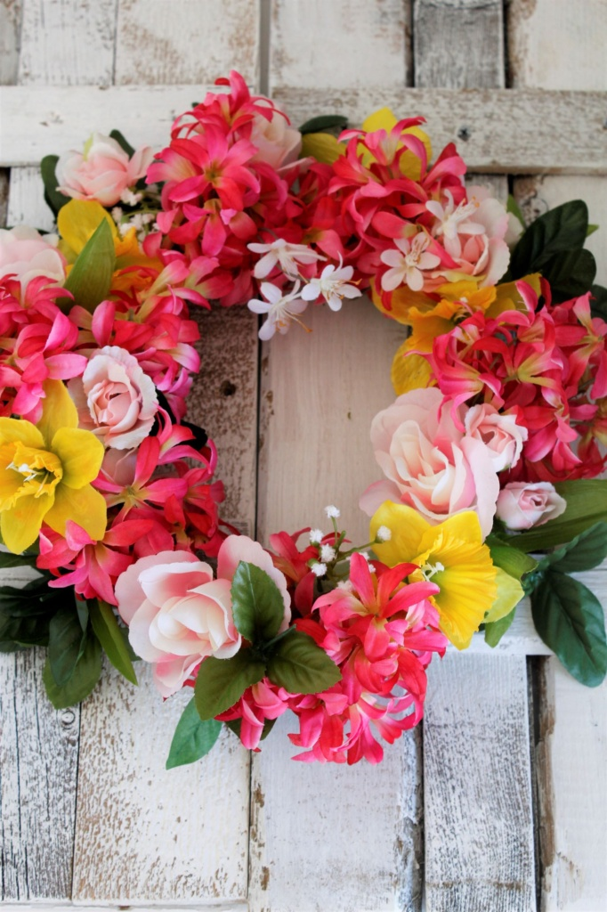 DIY Spring Wreath-CD's Country Living