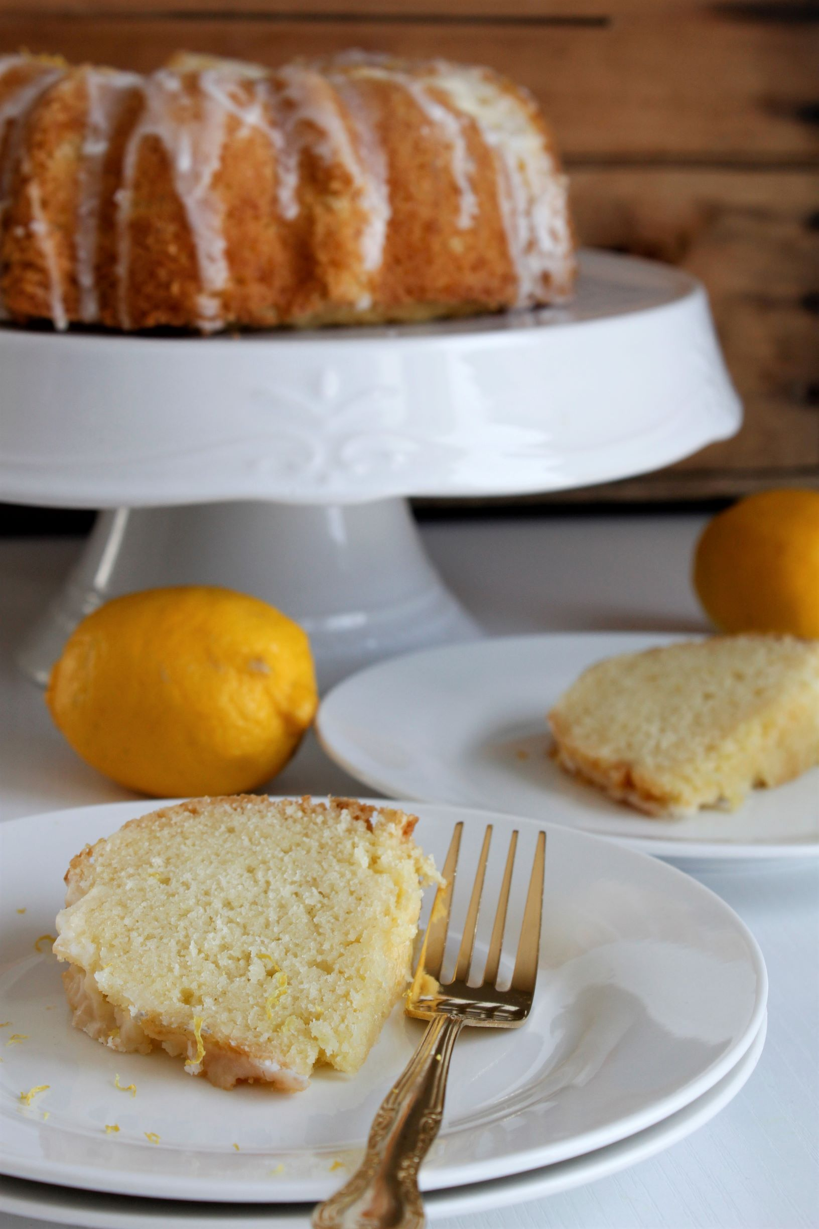 Lemon Pound Cake-CD's Country Living