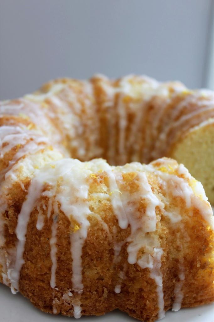 Lemon Pound Cake-CD's Country Living