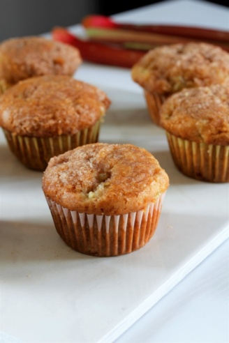 Rhubarb Muffins-CD's Country Living