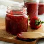 Strawberry-Rhubarb Freezer Jam